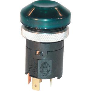 Hella Drukschakelaar - 6EF003916061   on / uit   14A 12V A   IP66A IP   4x 6,3mm   37 mm