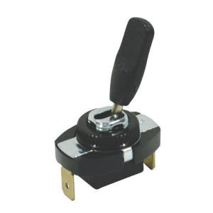 Hella Wisselschakelaar - 6EG001567041 | on / off | 2x 6,3mm | schakelaar zwart