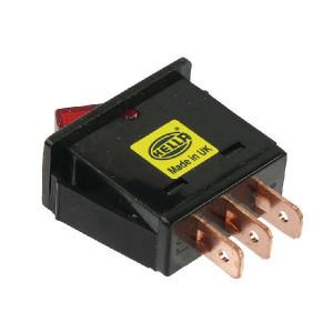 Schakelaar aan/uit Hella - 6EH004406012 | radarsensor | on / off | 12/24 V | 3x 6,3mm | IP6X IP