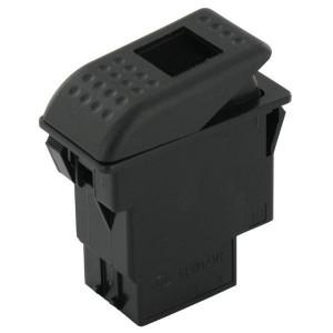 Schakelaar Hella - 6FH007832151 | Met nachtverlichting | 12/24 V | IP6X IP