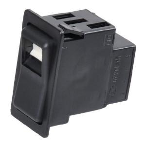 Schakelaar Hella veer retour - 6GM004570221 | Aan/ uitschakelaar / Aan | 12/24 V | 16/8 A | IP6X IP | 44,1 X 22,1 mm