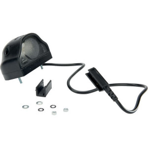 Kentekenlamp LED click-in - 6KLS0250LED50CI | Controlenummer: E4 4259 | Opbouw | Afmetingen: 87 x 38.5 mm | 100 mm | 500 mm | 0,96 W