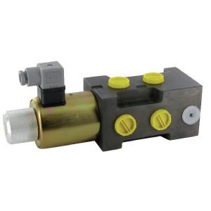 Poclain Wisselschuif 6/2-1/2-12VDC - 6KVH1012G | Rechtstreeks bediend | 12 DC V | 120 l/min | 350 bar