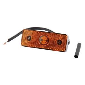 Markeringslamp oranje - 6SU10432GL | 12/24 V | 104 mm | 32 mm | Oranje