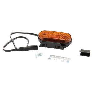 Markeringslamp oranje - 6SU11935GLB50 | 12/24 V | 119 mm | 35 mm | 500 mm | Oranje