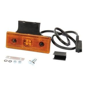 Markeringslamp oranje - 6SU12044GLB50 | 12/24 V | 120 mm | 43 mm | 500 mm | Oranje