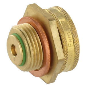 Femco Carterplug M18x1.5 - 7090020186 | M 18 x 1,5 | 13 mm | 28 mm | 10 mm