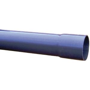 PVC Leiding 140 mm PN 16 - 7140016 | UV-bestendige buis | Met Kiwa-goedkeuring | 140 mm | 8,3 mm | 16 bar