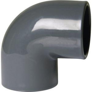 Gopart Knie 90° PVC 200 mm - 7200595GP | 90 ° | 16 bar | 175 mm | 200 mm | 107 mm | 101 mm | 4.510 g