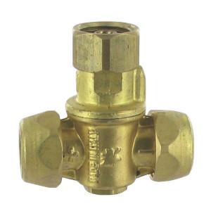 Braglia Dophouder M70 met 2 dopaansluiting - 72061017 | 2xØ15