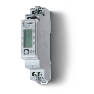 Finder kWh-meter 1-fase Digitaal 32A - 7E2382300000 | 7E.23.8.230.0000