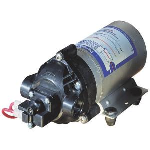 Shurflopomp 12V 6l/min - 8000543238 | 6 l/min | 6.9 bar | 6.9 bar | Polypropyleen | Verzinkt | 3/8 NPT Inch | 213 mm | 102 mm | 104 mm | 2,13 kg