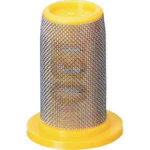 TeeJet Dopfilter 80 mesh zinkgeel - 8079PP80 | zinkgeel