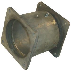 "Draaikopp. 8"" + vk.flens - 8302230Z | 230 mm | 8"" Inch"
