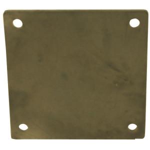 "Vierkantflens blind 8"" plat - 8309901Z | 8"" Inch | 180 mm | 230 mm"
