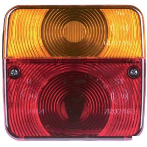 HERTH+BUSS Achterlicht - 83830020HB | links / rechts | Opbouw | 104 mm