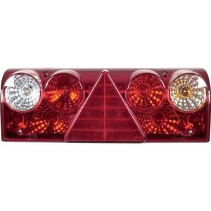 HERTH+BUSS Achterlicht - 83830049HB | Met gloeilampen | rechts | Opbouw | 420 mm | 148 mm