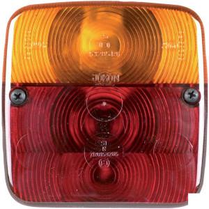 HERTH+BUSS Achterlicht - 83830092HB | links / rechts | Opbouw | 12 / 24 V | 110 mm | 110 mm