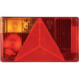 HERTH+BUSS Achterlicht - 83830099HB | Met gloeilampen | Inbouw | 12 / 24 V | Bjonett | 238 mm | 138 mm