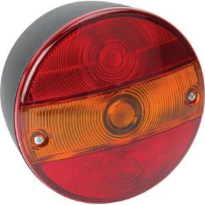 HERTH+BUSS Achterlicht - 83830521 | Opbouw | 12 / 24 V | 142 mm