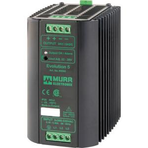 Voeding 400VAC/24VDC 5A - 85000 | 1.000 g | 83x132x98 mm | 400VAC V | 480...745 V DC | 50/60 Hz Hz | 24VDC V | 22...28 V adjustable V