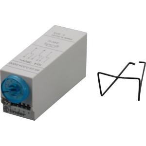Finder Miniatuur tijdrelais,24VDC,3W - 850300240000 | 20,6 mm | 27,7 mm | 10 A | 68,7 mm | 400 V | 24VDC V | 2.500 VA | 500 VA | 0,37 kW | 10/0,25/0,12 A | 300(5/5) V/mA | 20 ms