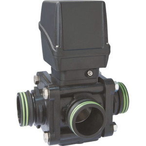 Arag Ball Valve - 853K16S77 | 12V/ 3 A V | 2,3 sec | 203 mm | 187 mm | T7 Inch BSP | RVS 316
