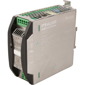 Voeding 230VAC - 24VDC 5A - 85440 | 50x125x138 mm | 230V AC V | 85...265 V AC V | 90...250 V DC | 50/60 Hz Hz | 24VDC V | 24...28 V adjustable V