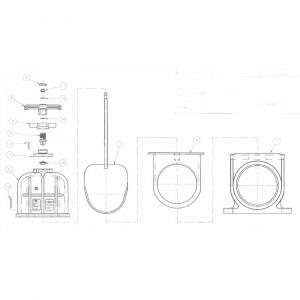 VdL Bovendeel schuifafsluiter - 870160