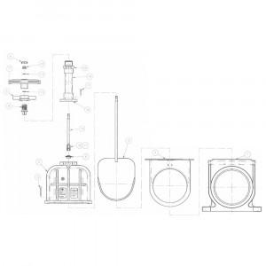 VdL As, rvs 500 mm - 8781601