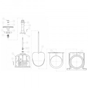 VdL As, rvs 1000 mm - 8781602