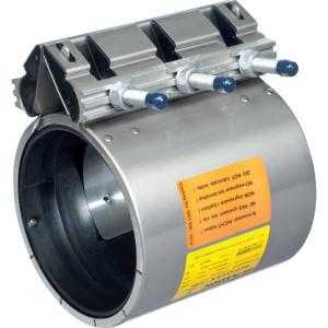 Plasson Reparatiekoppeling DN 100 - 8802101 | 100 mm | 16 bar | 108-118 mm | 22 mm | 210 mm | 135 mm