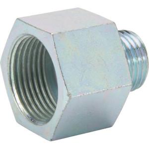 Wabco Adapter bi/bu M22x1,5-M16x1,5 - 8931800344 | Vervaardigd van messing | M16x1,5 | M22x1,5 | 7/12 mm | 27 mm