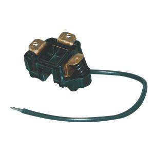Hella Stekker koplamp - 8JA001914011 | Huis van zwart kunststof | 12/24 V | 1,5/2,5 mm² mm2