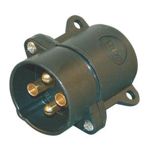 Hella Stekker 4-pol. schr. PVC - 8JA001920011 | DIN72575 | 12/24 V | 1,5/2,5 mm² mm2