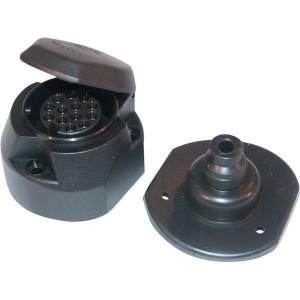 Hella Stekkerdoos 13-polig PVC - 8JB005949001   1,5/2,5 mm² mm²
