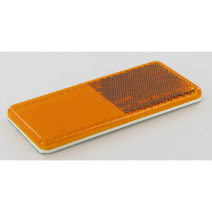 Reflector oranje Hella - 8RA003326041 | Universeel toepasbaar | zelfklevend | E2 92031