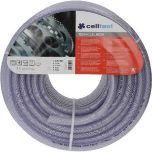 Cellfast Slang 12,5x17,5mm - 90802112250 | Transparant | Transparant | Textielinlage | 12,5 mm | 1/2 Inch | 2,5 mm | 13 bar | 39 bar | 17,5 mm