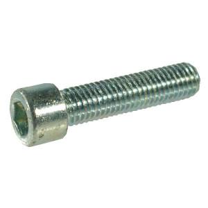 Cil.inbusbout M8x12 8.8 verz. - 912812 | M8x1,25 | 13 mm | 12 mm | 8 mm | DIN 912 | ISO 4762 | Verzinkt | 1 kg/100 | Metrisch