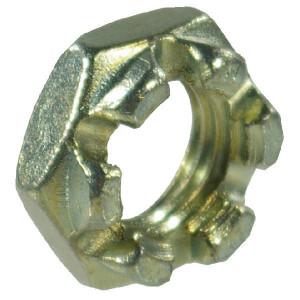 Kroonmoer M18x1,5 kl. 8 verz. - 9371815 | 13 mm | M18x1,5 | DIN 937 | Verzinkt | 3,1 kg/100 | DIN 937 | Metrisch fijn