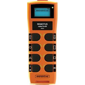 Åkerströms Transmitter Jupiter ERA 8B - 953948000 | FM GMSK | 183 x 67 x 45 mm | 128 x 64 | 40 Uur | 1,9 Ah | 9.600 baud | Li-ion | 67 IP | -25...+55 °C