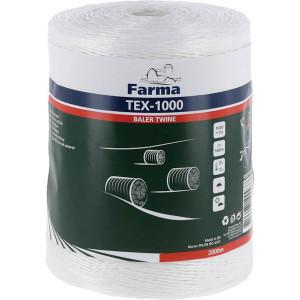 Farma Bindtouw Tex-1000 2000 m - 955010FA | 1000 m/kg | TEX-1000 / PP1000 | 2000 m | 38 daN | 202 mm | 1000 m/kg | 22 daN