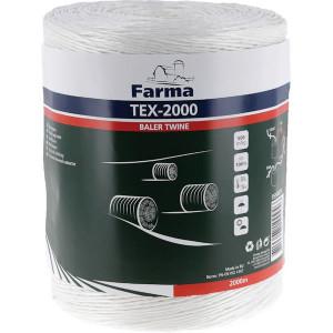 Farma Bindtouw Tex-2000 2000 m - 955040FA | 500 m/kg | TEX-2000 / PP500 | 2000 m | 78 daN | 254 mm | 500 m/kg | 41 daN