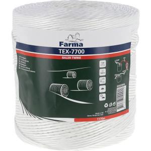 Farma Bindtouw Tex-7700 1170 m - 955070FA | 130 m/kg | TEX-7700 / PP130 | 1170 m | 300 daN | 305 mm | 162 daN | 130 m/kg
