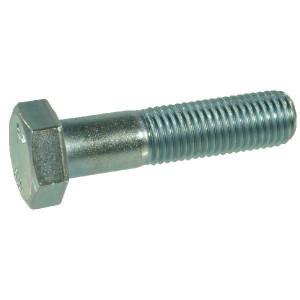 Bout M12x1,5x60 8.8 verz. - 960121560 | M12x1,5 | 30 mm | 7,5 mm | DIN 960 | ISO 8765 | Verzinkt | 7 kg/100 | DIN 960 / ISO 8765 | Metrisch fijn
