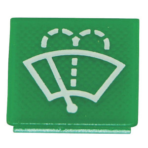 Hella Symbool groen wiser/sproeier - 9XT713630121