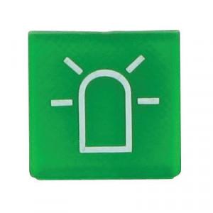 Hella Symbool groen zwaailamp - 9XT713630281