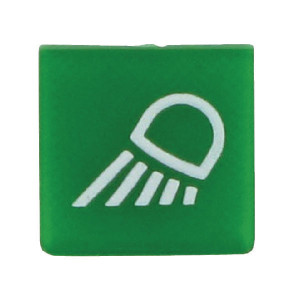 Hella Symbool groen werklamp - 9XT713630371