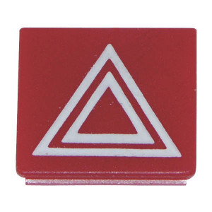 Hella Symbool rood alarmlicht - 9XT713630391