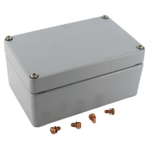 Bopla Huis, alumin. 80x125x57mm - A110 | IP 66/ DIN EN 60529 | 125 mm | 57 mm
